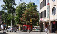 Blick von der Leipziger Straße